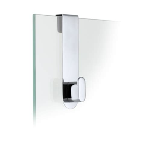 Areo Polished Stainless Steel Glass Shower Over Door Hook Shower Door Hook