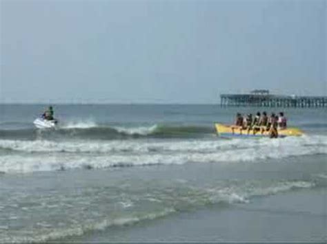 banana boat rides at myrtle beach sc jet ski banana boat ride myrtle beach sc crown reef youtube