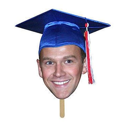 face fans for graduation shindigz our graduation fan faces feature your grad s