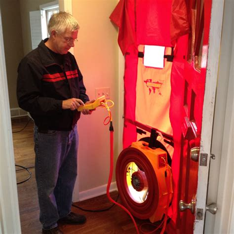 blower door testing southwest radon