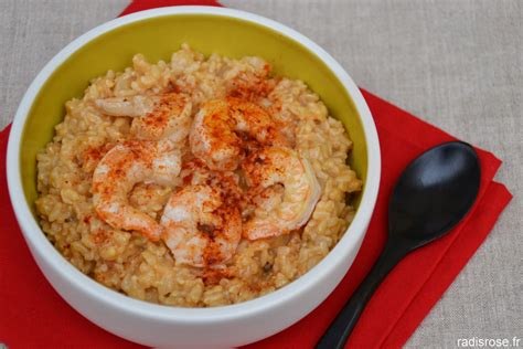 cuisiner des gambas gambas au riz cr 233 meux parfum 233 au chorizo radis