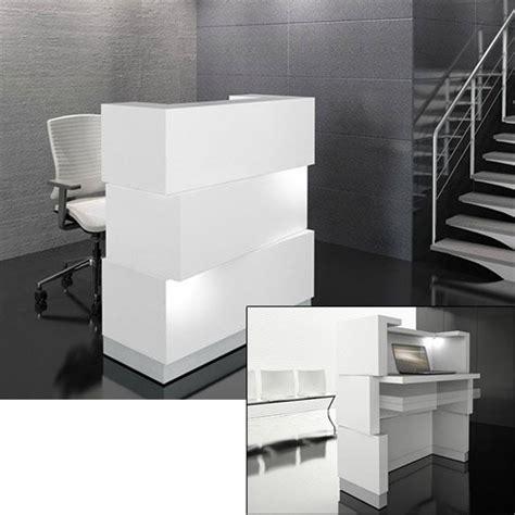 Zen Reception Desk Zen Reception Desk White Huntoffice Ie
