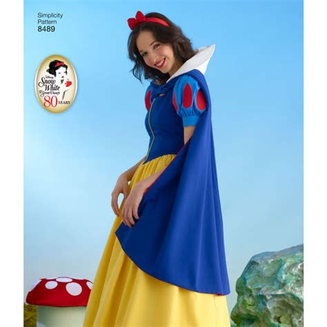pattern snow white costume simplicity pattern 8489 misses snow white costume