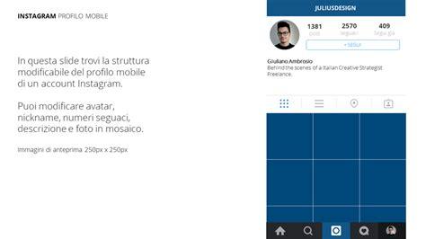 instagram design for powerpoint instagram free template powerpoint keynote per creare