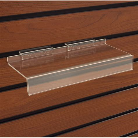 slatwall display shelves slatwall acrylic shelves acrylic slatwall shelf with 1