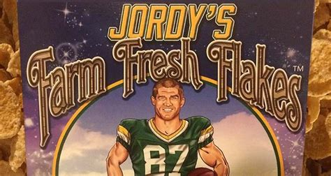 jordy nelson cereal breakfast cereal review jordy s farm fresh flakes