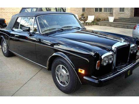 corniche rolls royce for sale 1985 rolls royce corniche for sale classiccars cc