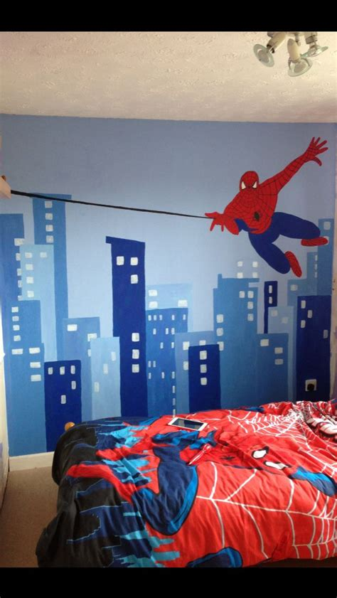 spiderman bedroom ideas 26 best spiderman room images on pinterest boy nurseries