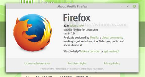firefox themes linux mint linux mint 18 xfce beta is out