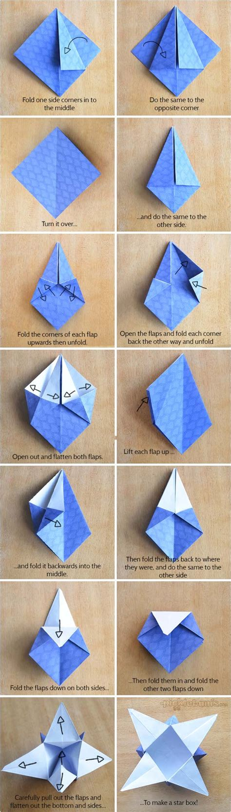 origami boxes with printable origami paper picklebums