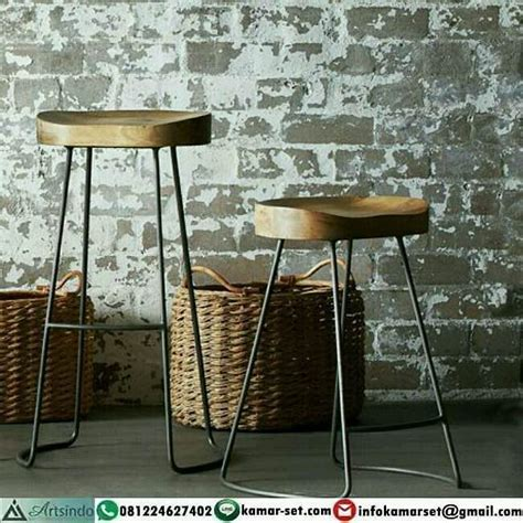Kursi Bar Stool Besi stool bar industrial kursi bar besi kursi cafe murah