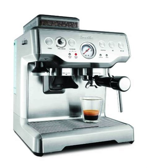 Breville Coffee Maker coffee consumers breville rm bes860xl remanufactured barista express programmable espresso