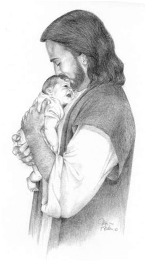 imagenes de jesus con un bebe en brazos hijo mio