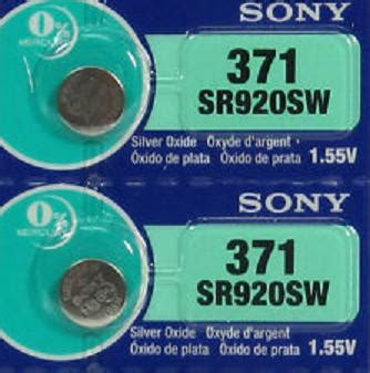 Batrai Jam Sony jual sony 920 batre baterai jam tangan sr920sw sr920 371 original ori toko baru