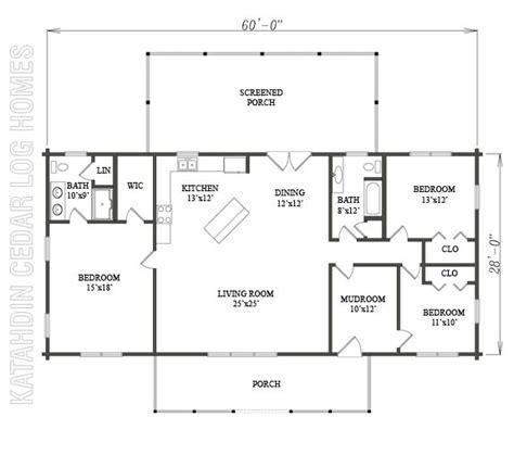 katahdin log home floor plans log home plan 09977 katahdin cedar log homes floor plans
