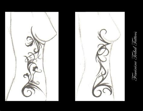 feminine tribal tattoo designs feminine tribal tattoos by truly devoted on deviantart
