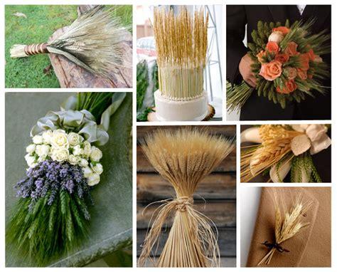 decoracion con trigo espigas de trigo para la decoracion de tu mesa mimi ideas originales para decorar tu boda en verano eventos en familia