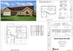 house drawings plans spec pages housecabin