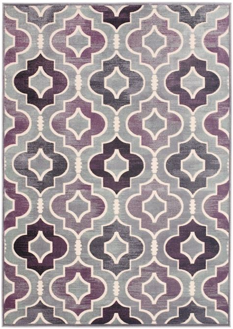 Grey And Purple Area Rug Purple And Grey Rug Roselawnlutheran