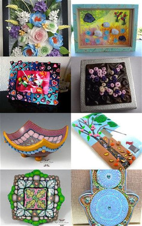 17 best images about polymer clay home decor on