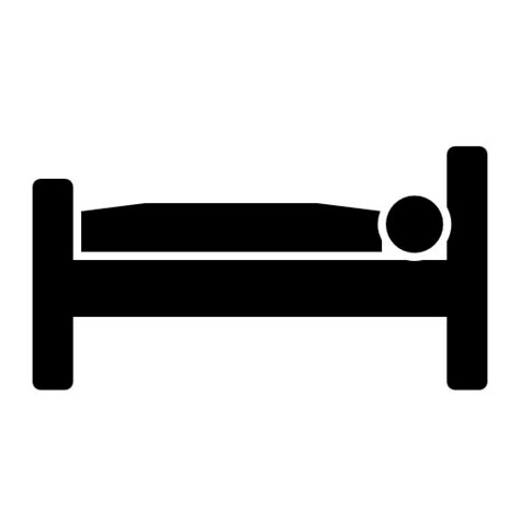 bed icon single bed icon download free icons
