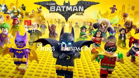 despacito lego quot lego batman movie quot batman and batgirl sing quot despacito