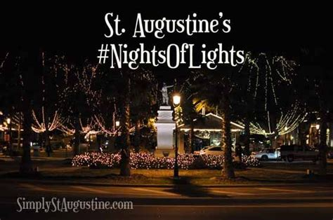 Of Lights St Augustine by St Augustine Nights Of Lights 2013 Places I Want To Go
