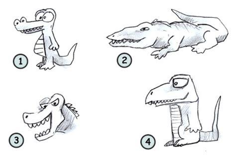 How To Draw A Realistic Crocodile