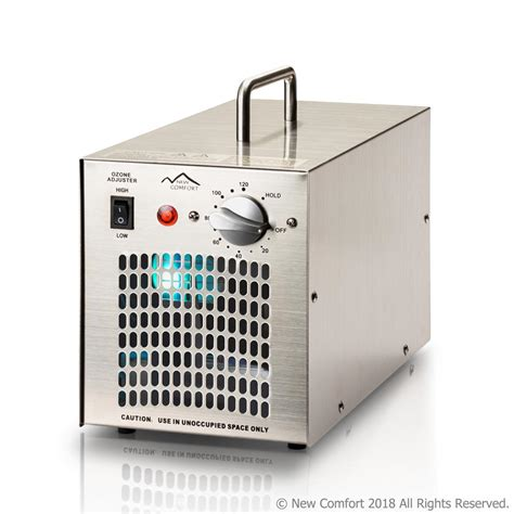 new comfort ss7000 stainless steel commercial air purifier and ozone generator with uv ss7000