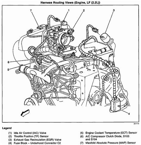 12 further 2002 gmc sonoma engine diagram graphics wiring diagram and parts diagram rebuilding a 2002 sonoma 2 2 trouble with wire routing on the driver side specifically