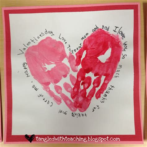 valentines day quotes for preschoolers tangled with teaching valentines felt handprint hearts