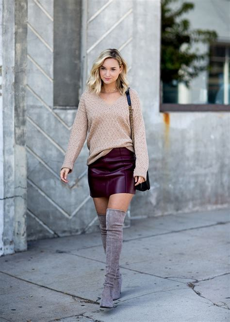 how to wear the knee boots how to wear the knee boots stylecaster