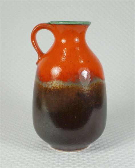 18 Pirinng Set Hello Keramik vintage west german pottery vase u keramik model 1777 18 orange brown green ebay