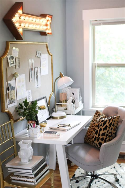 chic home office desk what your home office lighting reveals about your style