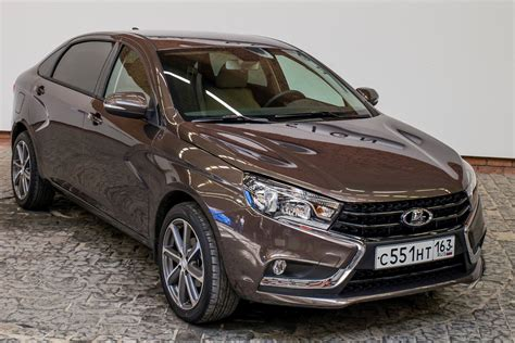 lada par lada vesta signature is the poor s corporate limo