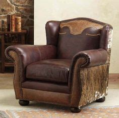Western Leather Recliner by Tooled Leather Recliner Western Furniture Rustic Home Decor S House