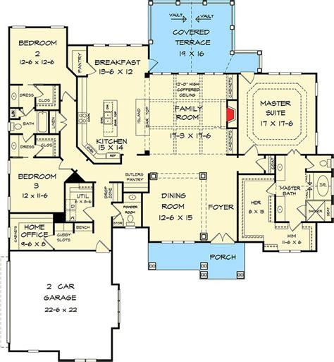 Large Craftsman House Plans by Best 25 One Level Homes Ideas On One Level