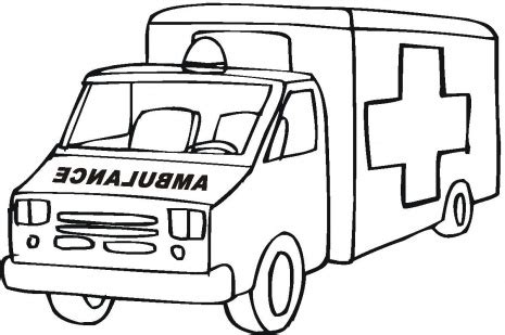 construction vehicle coloring pages emergency vehicle