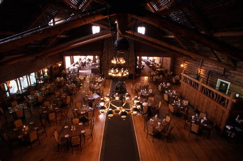 Old Faithful Inn Dining Room yellowstone s photo collection