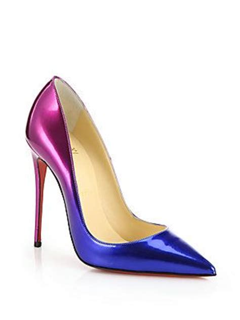 richelle wedges wanita chio blue christian louboutin christian and patent leather on