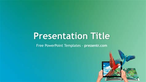 Augmented Reality Ppt Template Free Augmented Reality Powerpoint Template Prezentr