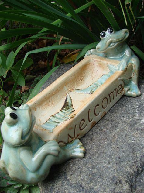 Feeder Frogs For Sale welcome frogs bird feeder mondus distinction garden decor