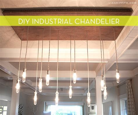 Diy Industrial Chandelier How To Make An Industrial Light Chandelier 187 Curbly Diy