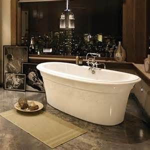 maax bathtub ella embossed freestanding canaroma bath tile