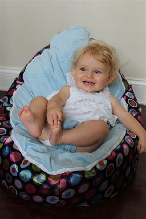 baby bean bag chair with straps