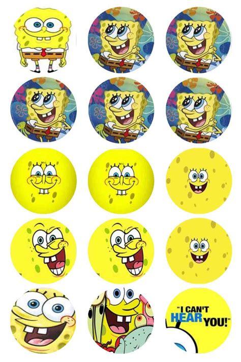 10 best spongebob cupcake print images on pinterest