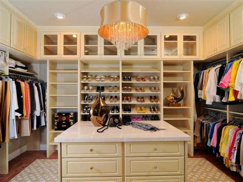 master closet islands luxurious master closet kerrie hgtv