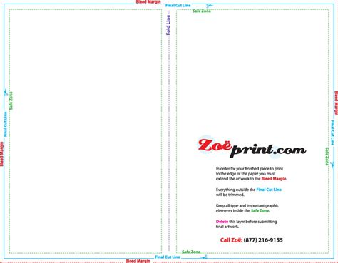 8 5 x 11 half fold card template templates