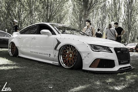 """Audi """"RS7"""" TDI Has Rocket Bunny Kit, Air Suspension and Awesome Exhaust autoevolution"""
