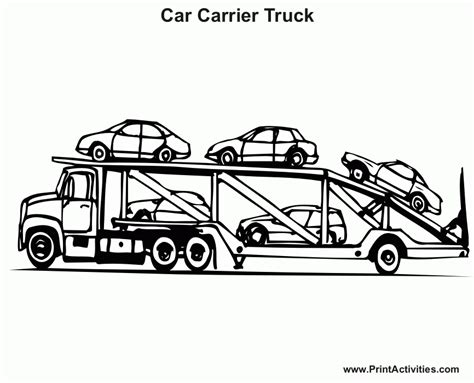 coloring pages cars and trucks for free cars and trucks coloring pages get coloring pages